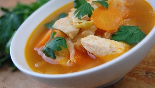 Przepisy Zupy Dietetyczne Zupa Z Piersi Kurczaka I Kapusty
